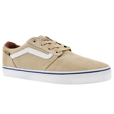 Vans Men's CHAPMAN STRIPE khaki/white sneakers