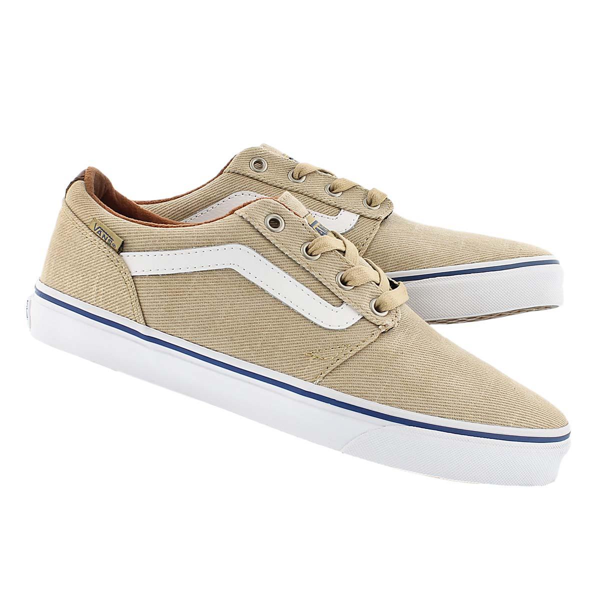 Mns Chapman Stripe khaki/white sneaker