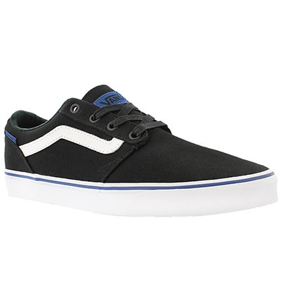 Vans Men's CHAPMAN STRIPE black/blue sneakers