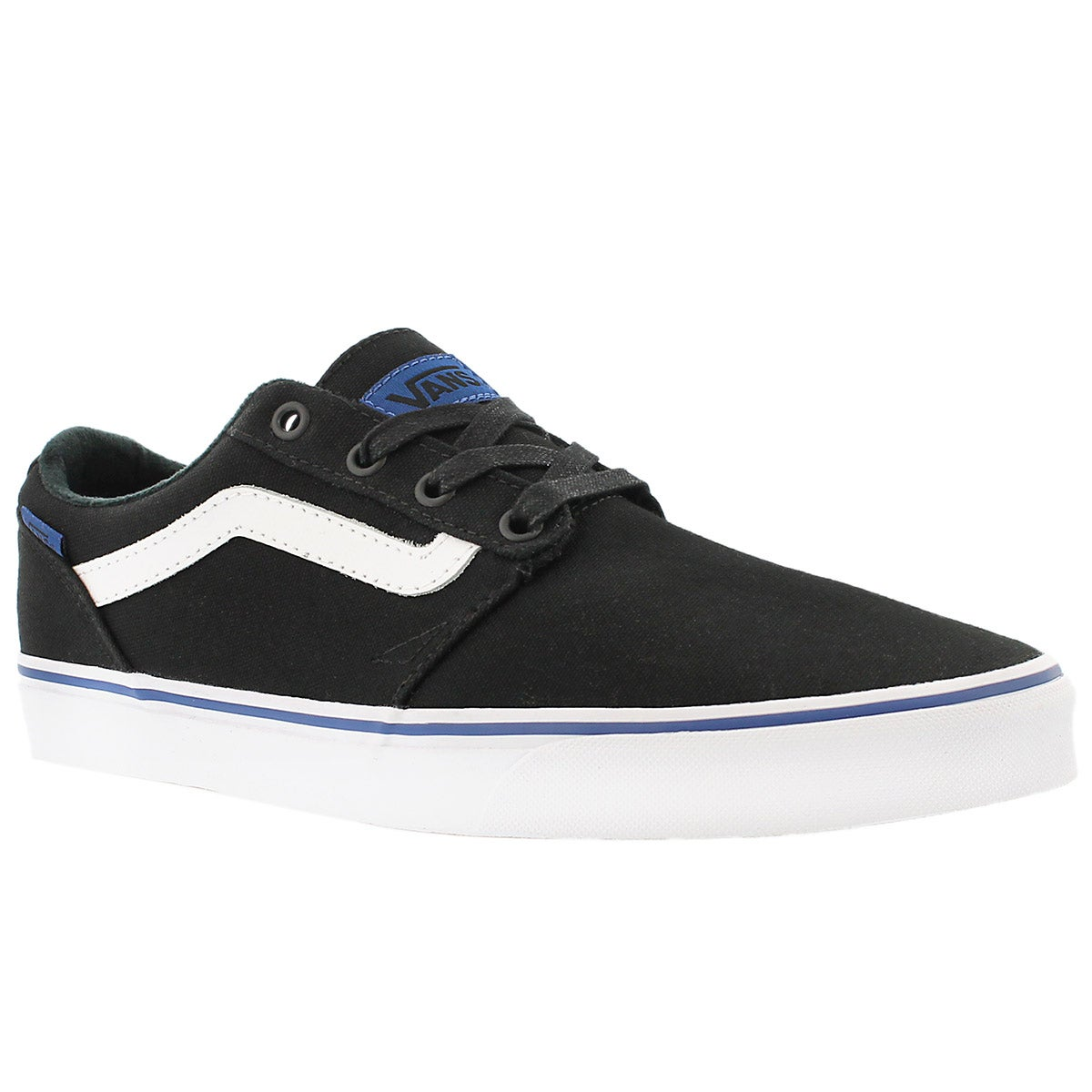 Men's CHAPMAN STRIPE black/blue sneakers