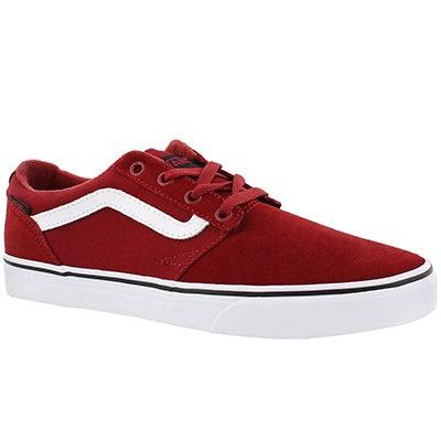 Vans Men's CHAPMAN STRIPE red/black sneakers