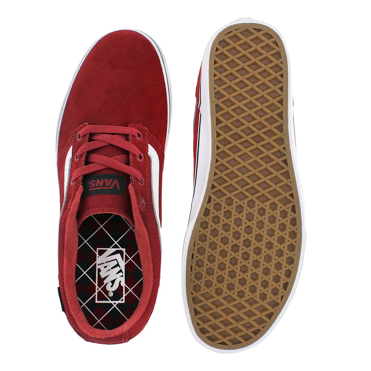 Mns Chapman Stripe red/black sneaker