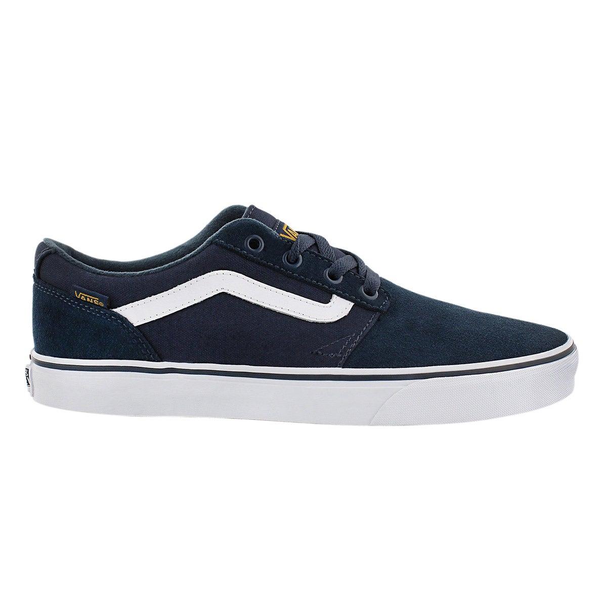 Mns Chapman Stripe navy/gold sneaker