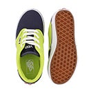 Bys Atwood lime/blue lace up sneaker