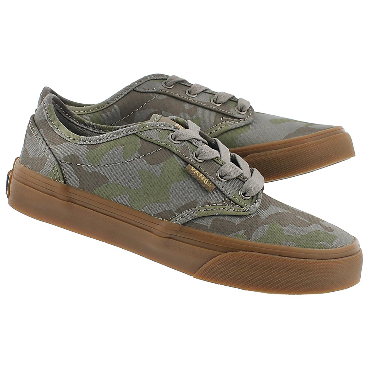 Bys Atwood camo print lace up sneaker