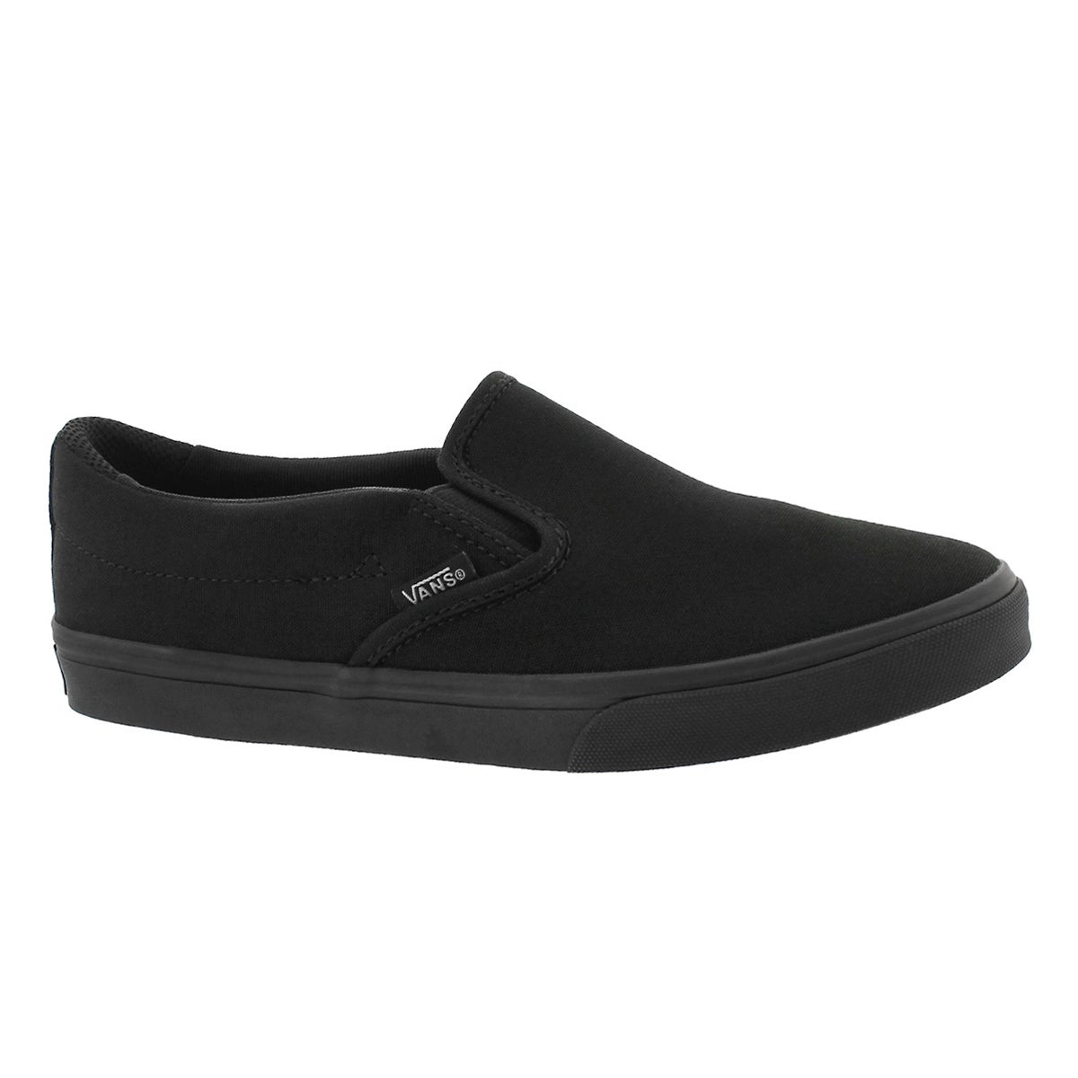 Women's ASHER blk/blk slip on sneakers