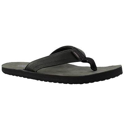 Vans Men's LANCASTER black flip flops