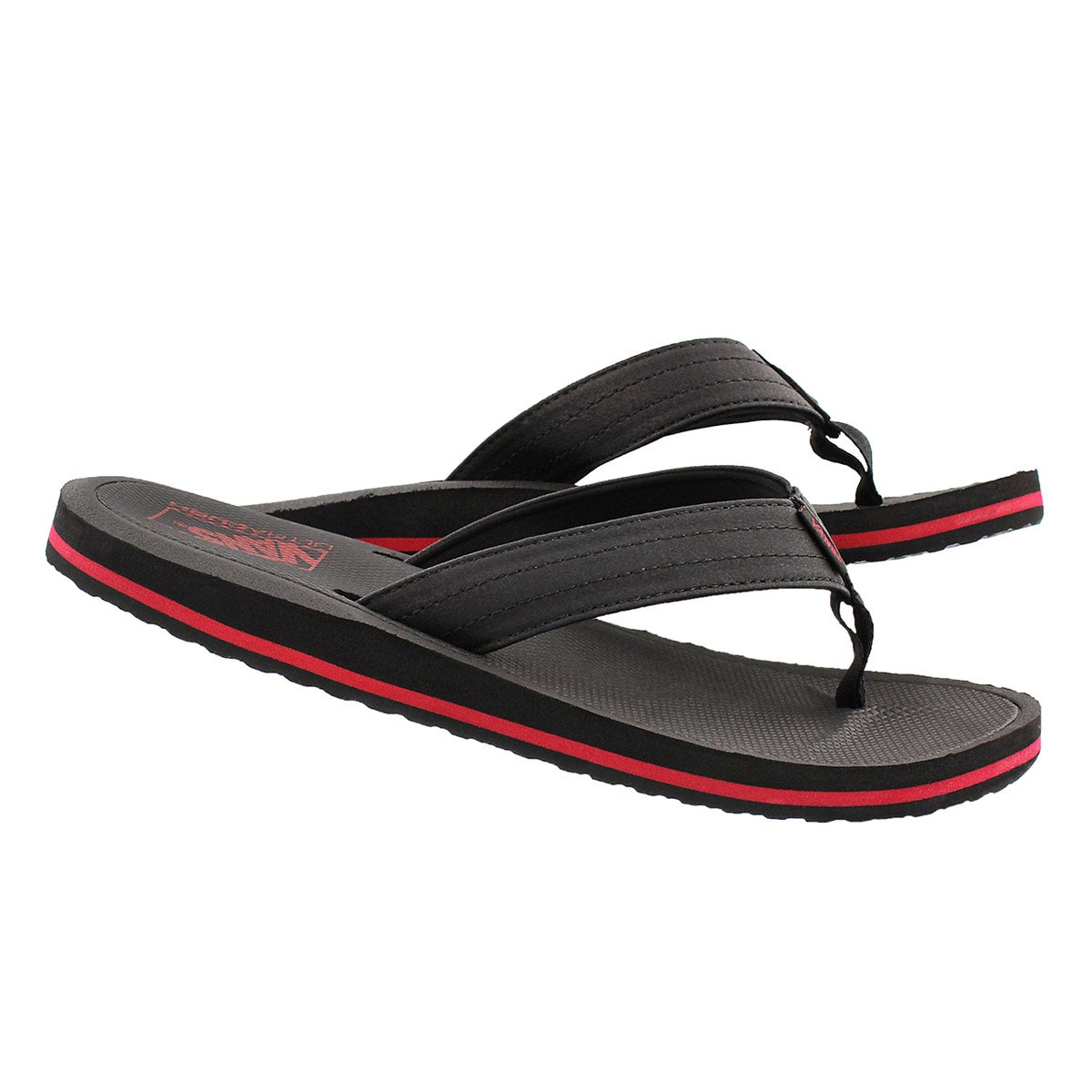 Mns Palmdale black/red flip flop