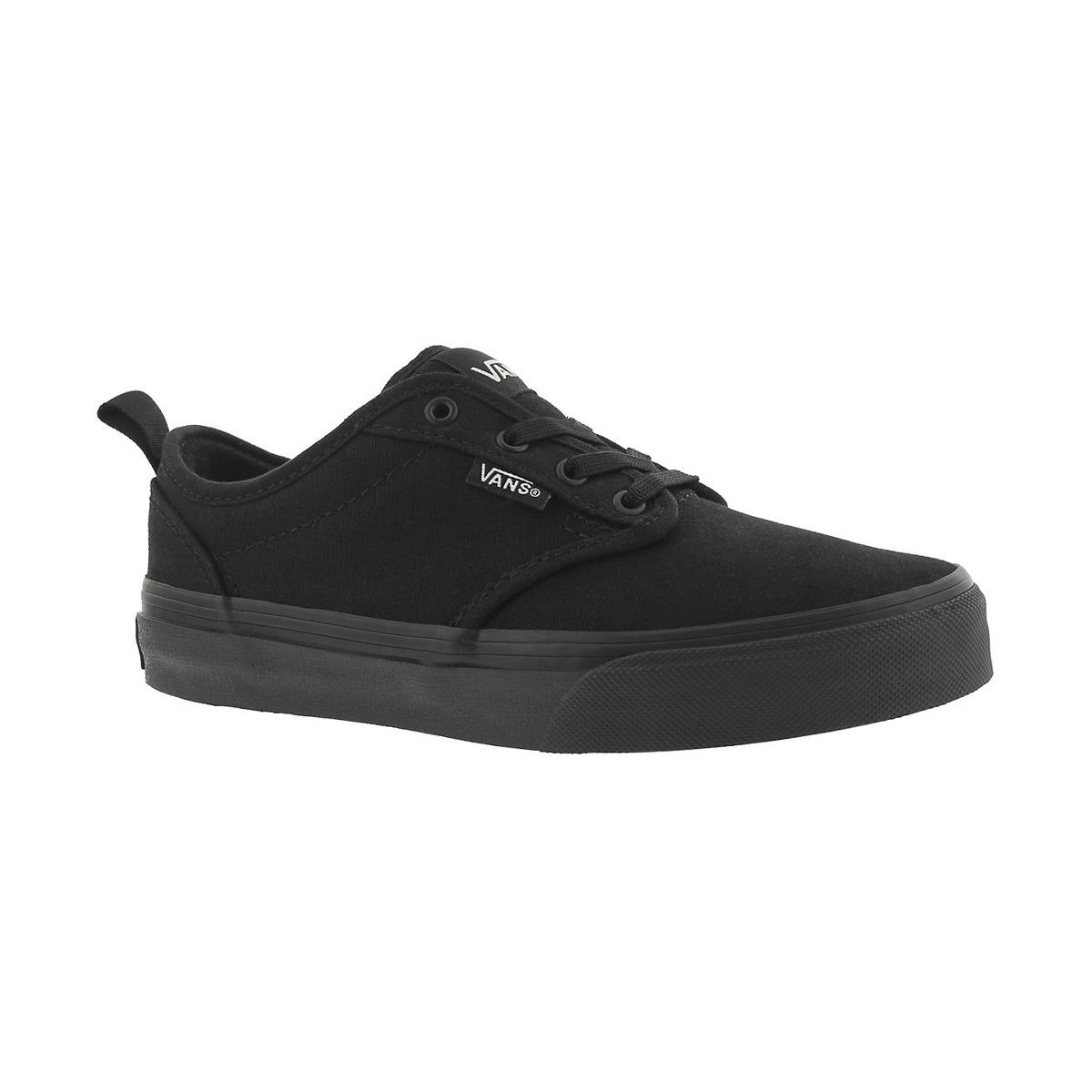 Boys' ATWOOD black/black slip on sneakers