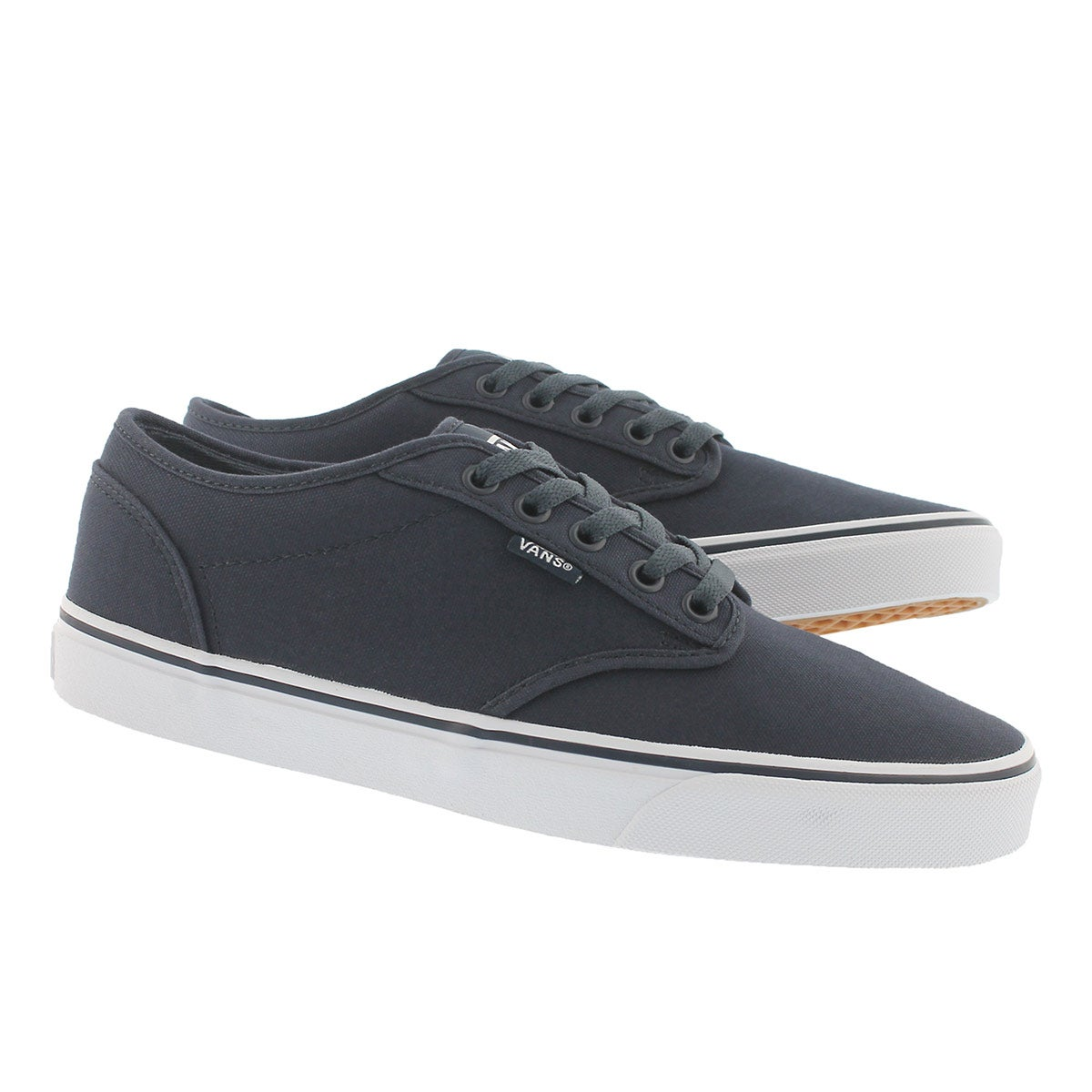 Mns Atwood navy canvas laceup sneaker
