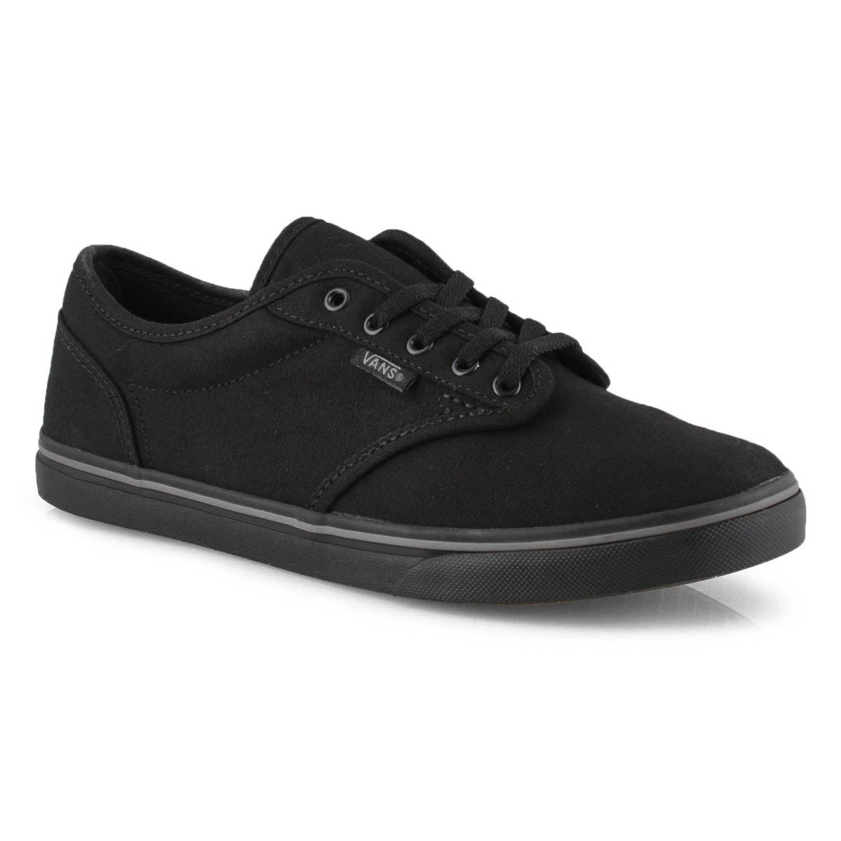 Lds Atwood Low blk/blk lace up sneaker