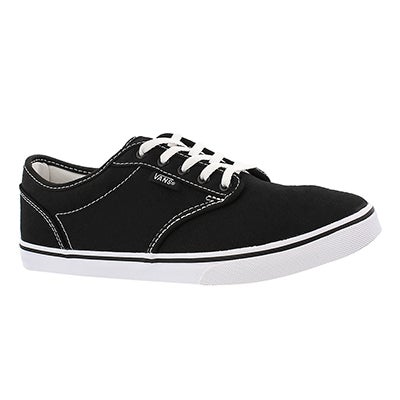 Vans Women's ATWOOD LOW black/white lace up sneakers