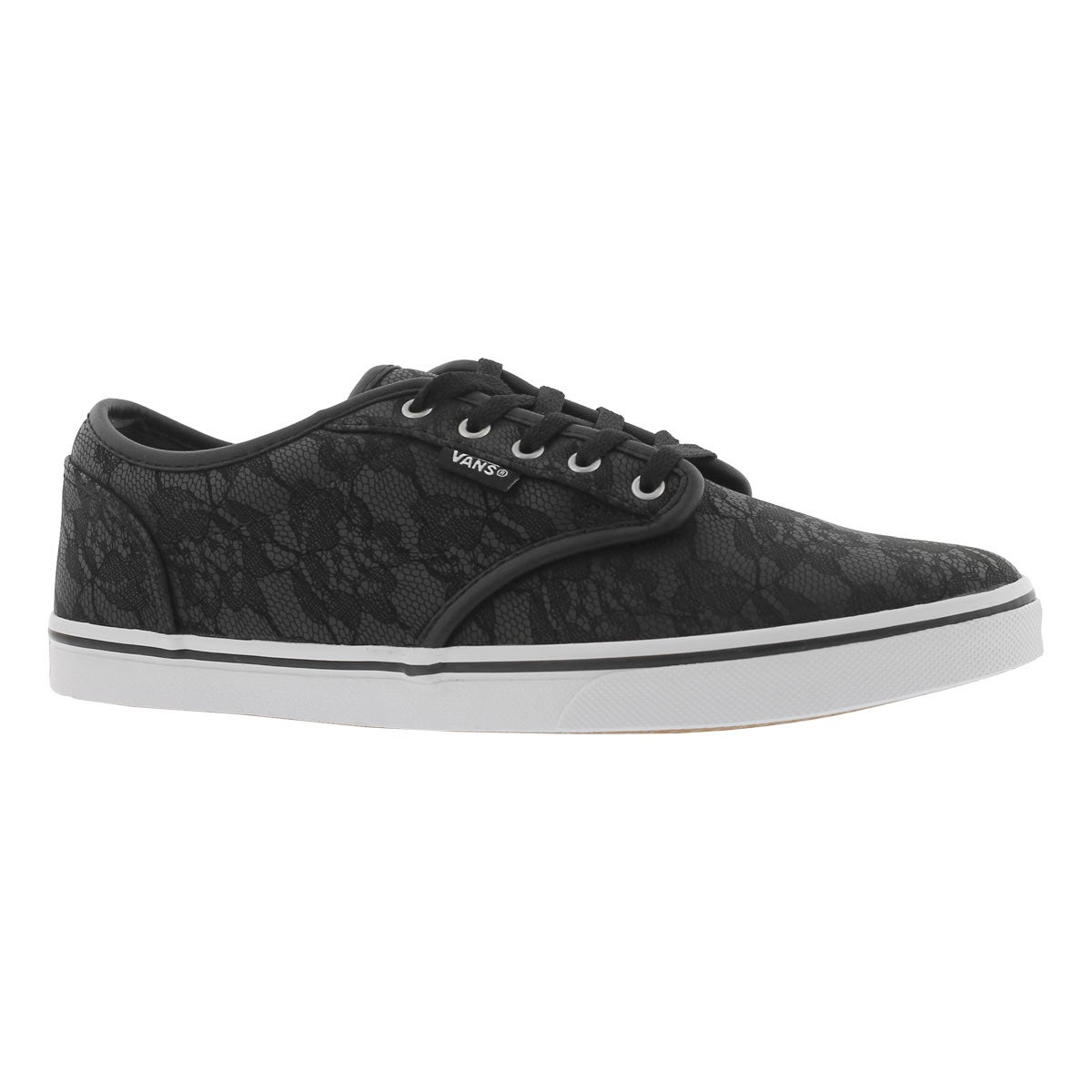 Women's ATWOOD LOW black lace laceup sneakers