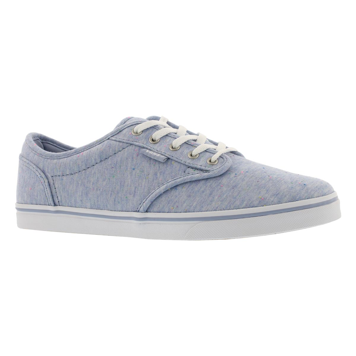 Women's ATWOOD LOW speckle blue laceup sneakers