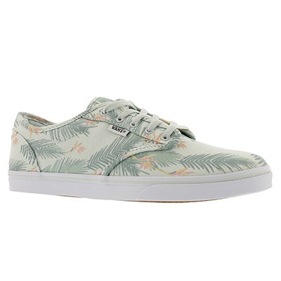 Lds Atwood-Low tropical grn lace up snkr
