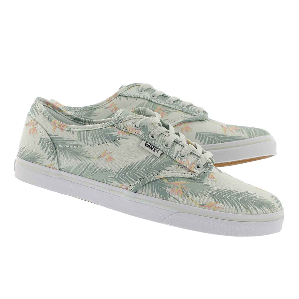 Lds Atwood Low tropical grn laceup snkr