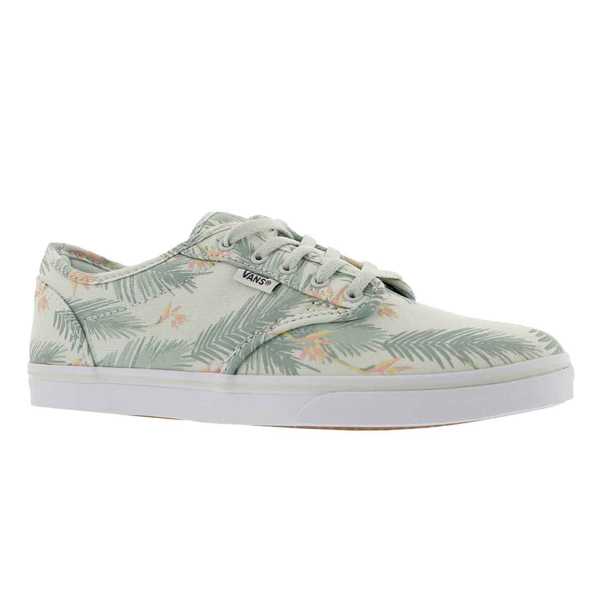 Women's ATWOOD LOW tropical grn laceup sneakers