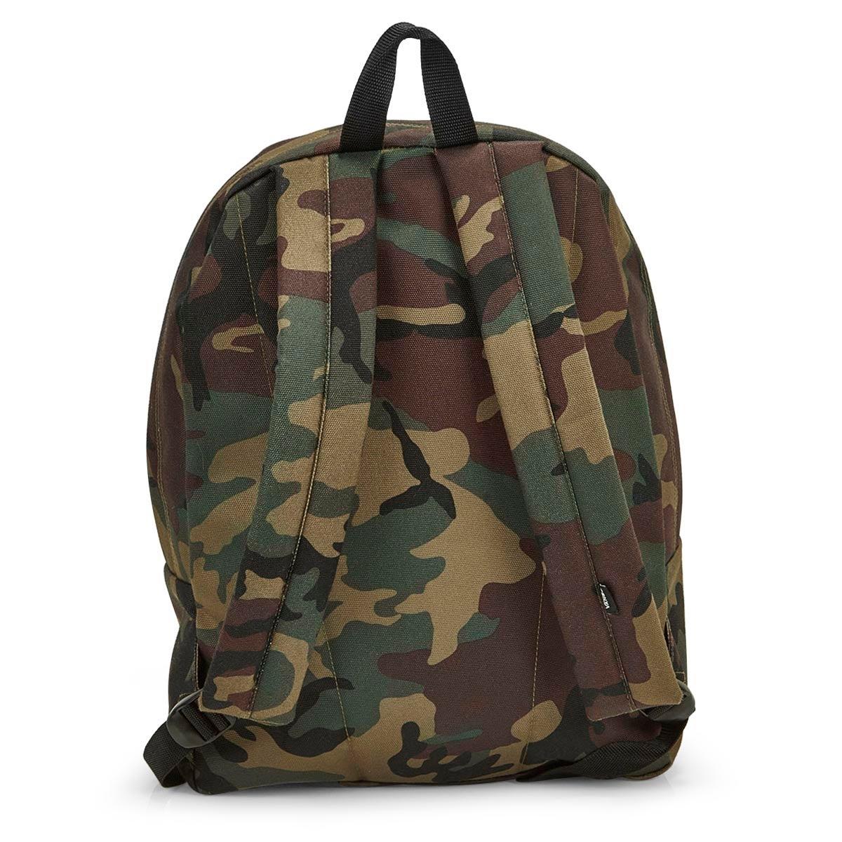 Vans Old Skool II classic camo backpack