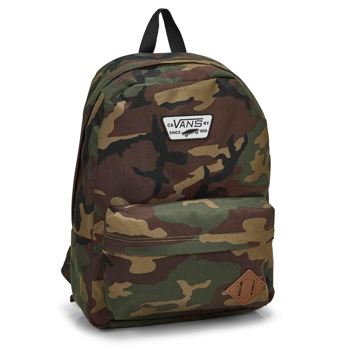 Unisex OLD SKOOL II classic camo backpack