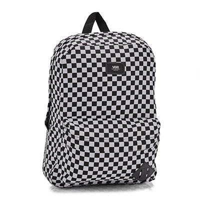 Vans Old Skool II bk/wt checker backpack