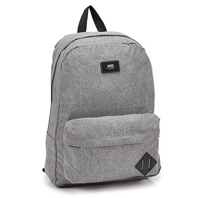 Vans Old Skool II gry heathered backpack