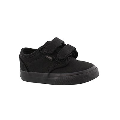 Vans Infants' ATWOOD black canvas sneakers