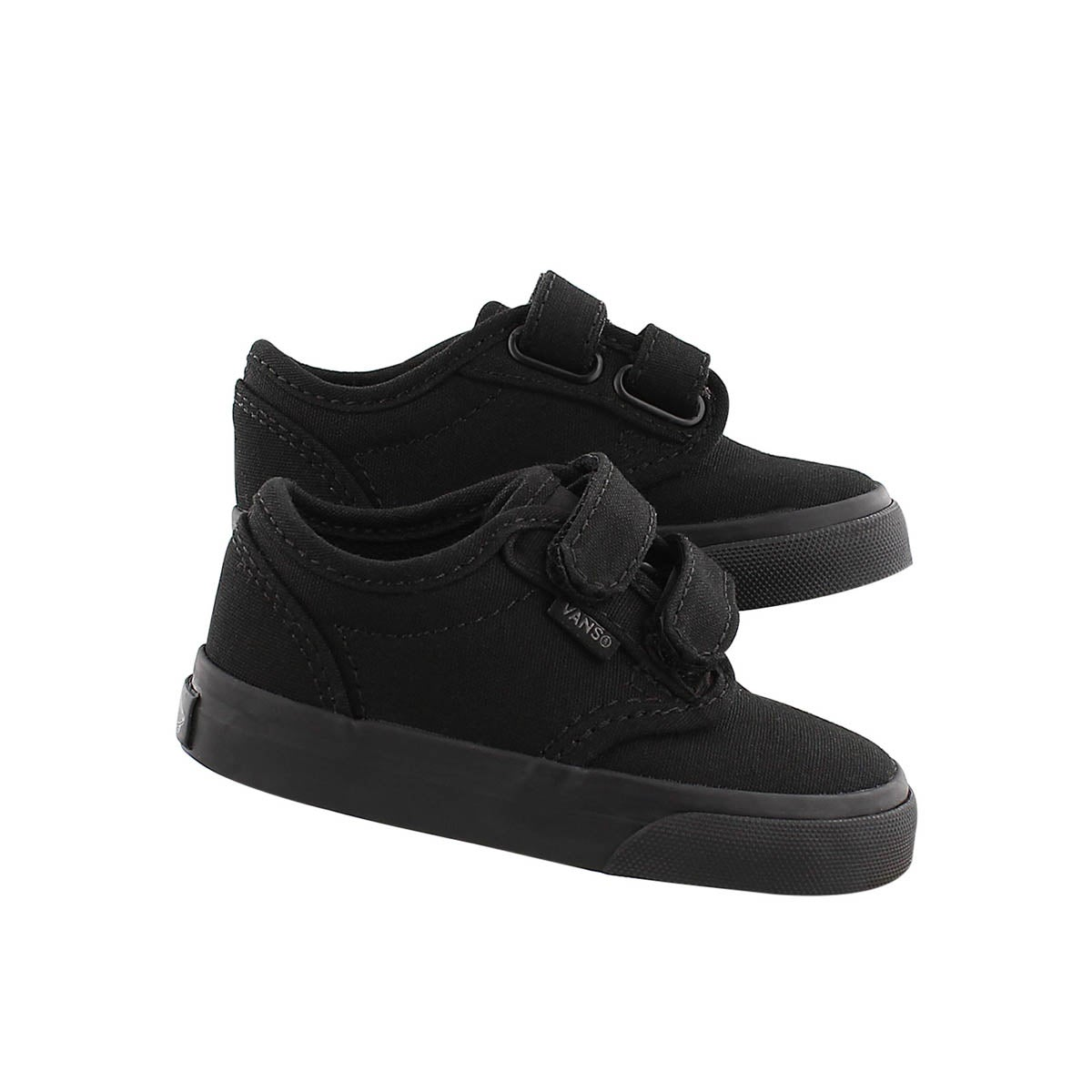 Infs-b Atwood black canvas sneaker