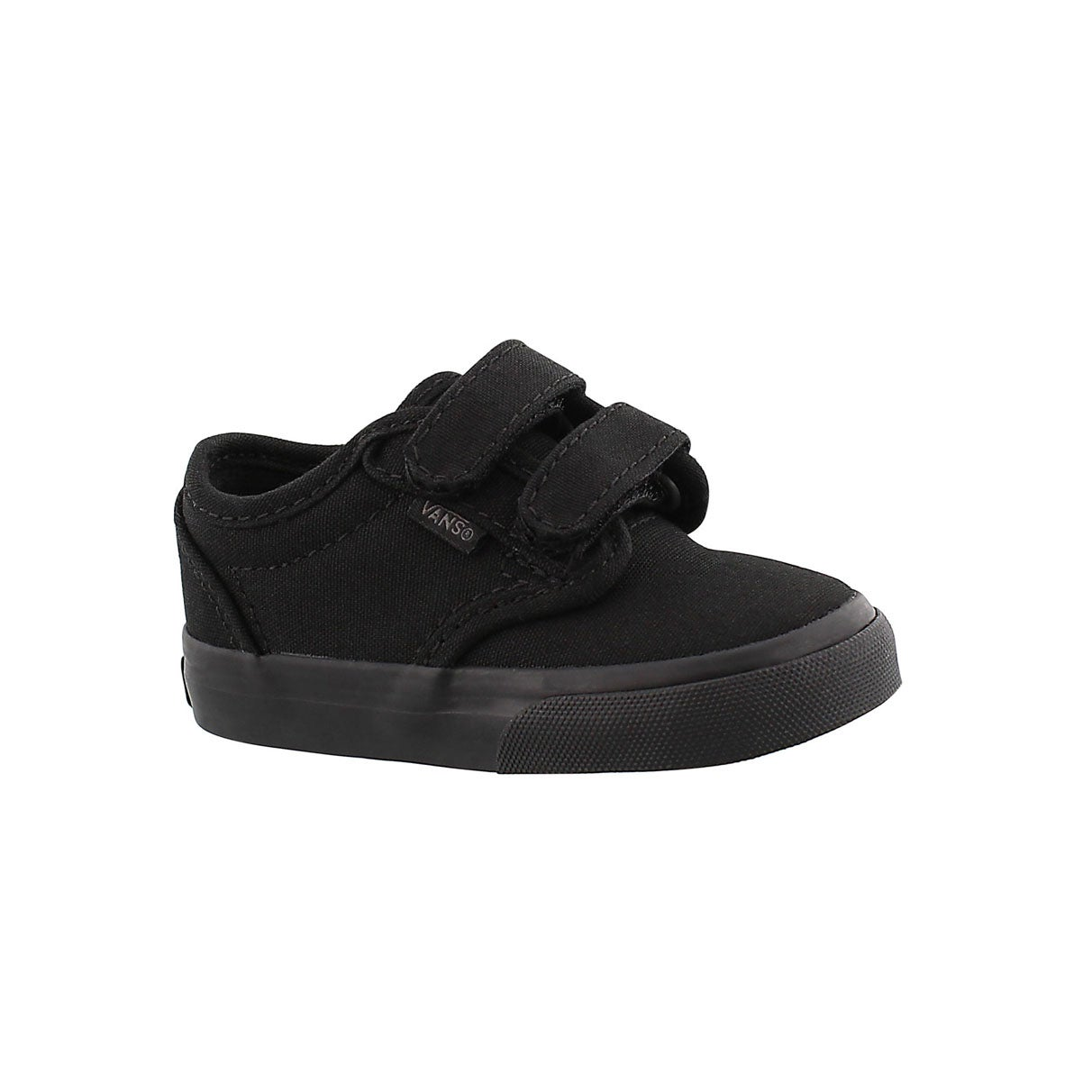 Infs-b Atwood blk/blk canvas sneaker