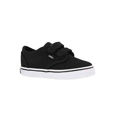Infs-b Atwood blk/wht canvas sneaker
