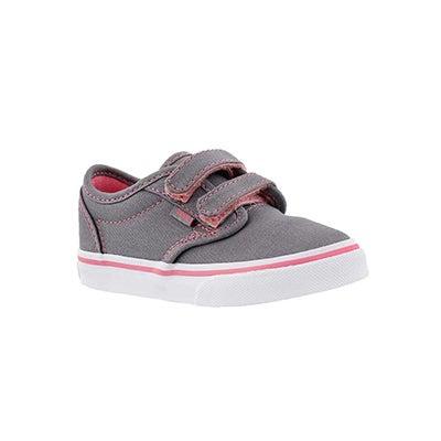 Vans Infants' ATWOOD grey/pink sneakers