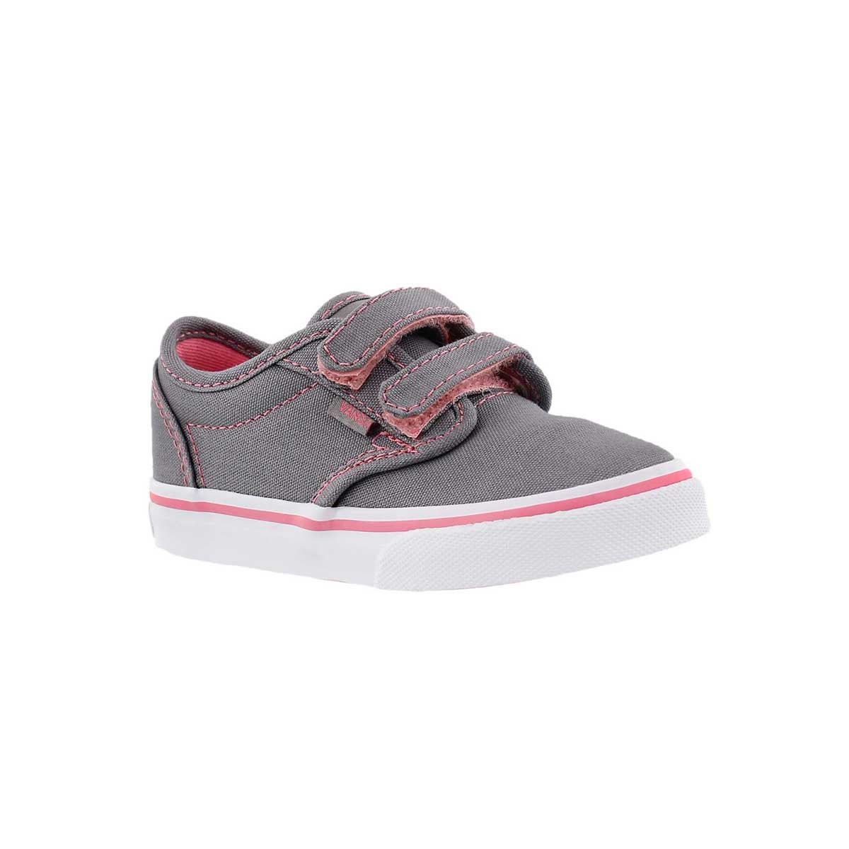 Infants' ATWOOD grey/pink sneakers
