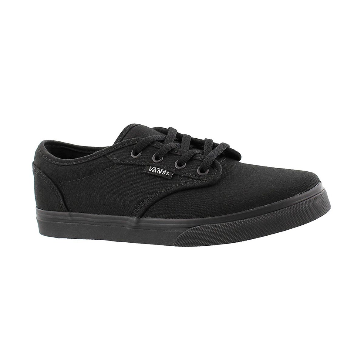 Grls Atwood Low black lace up sneaker