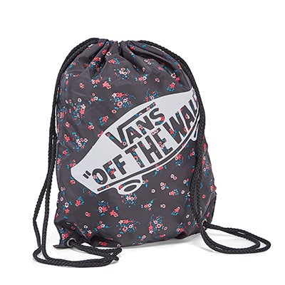 Vans Benched Bag floral blk cinch backpk