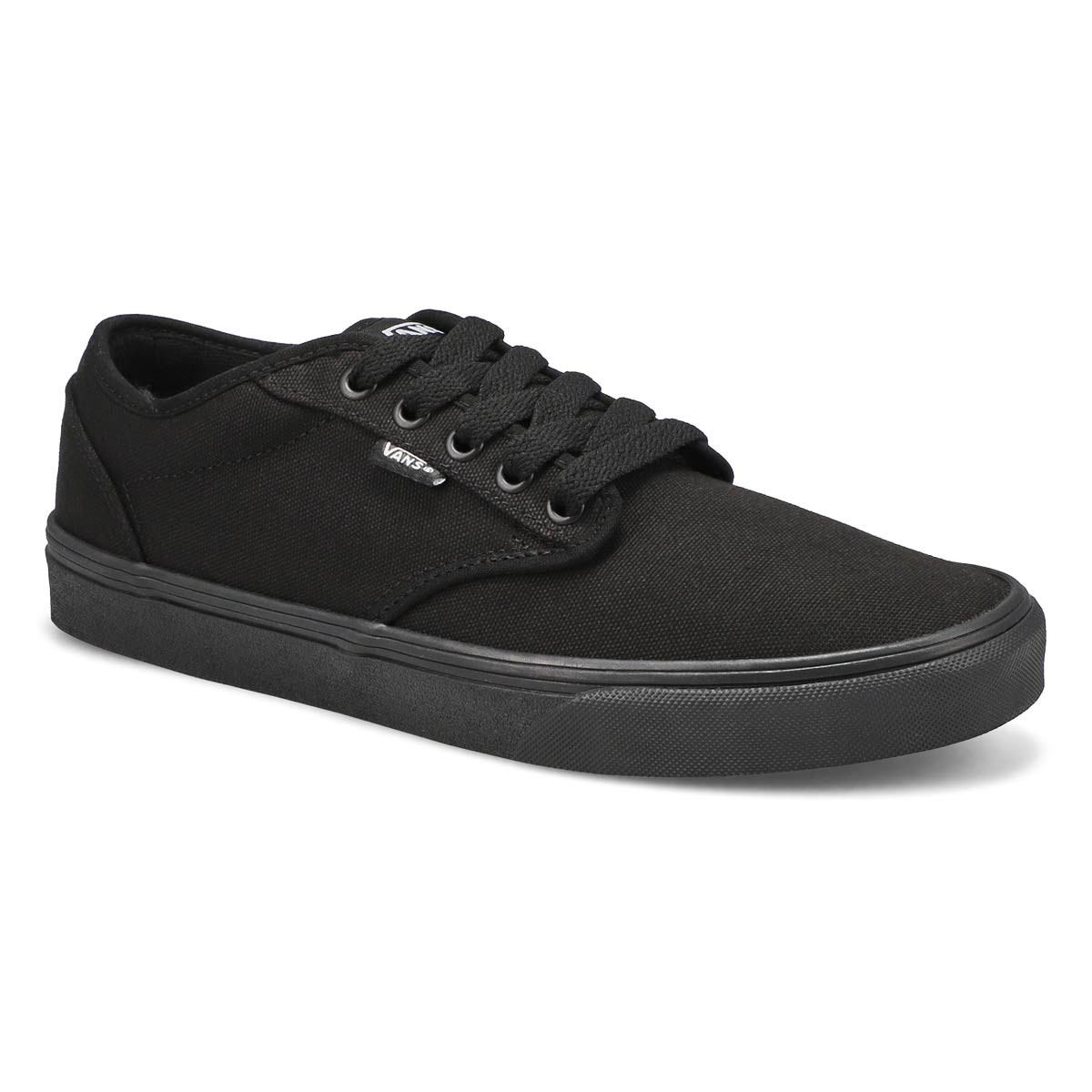 Mns Atwood blk/blk cnvs lace up sneaker