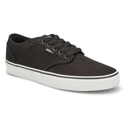 Vans Men's ATWOOD black canvas lace up sneakers