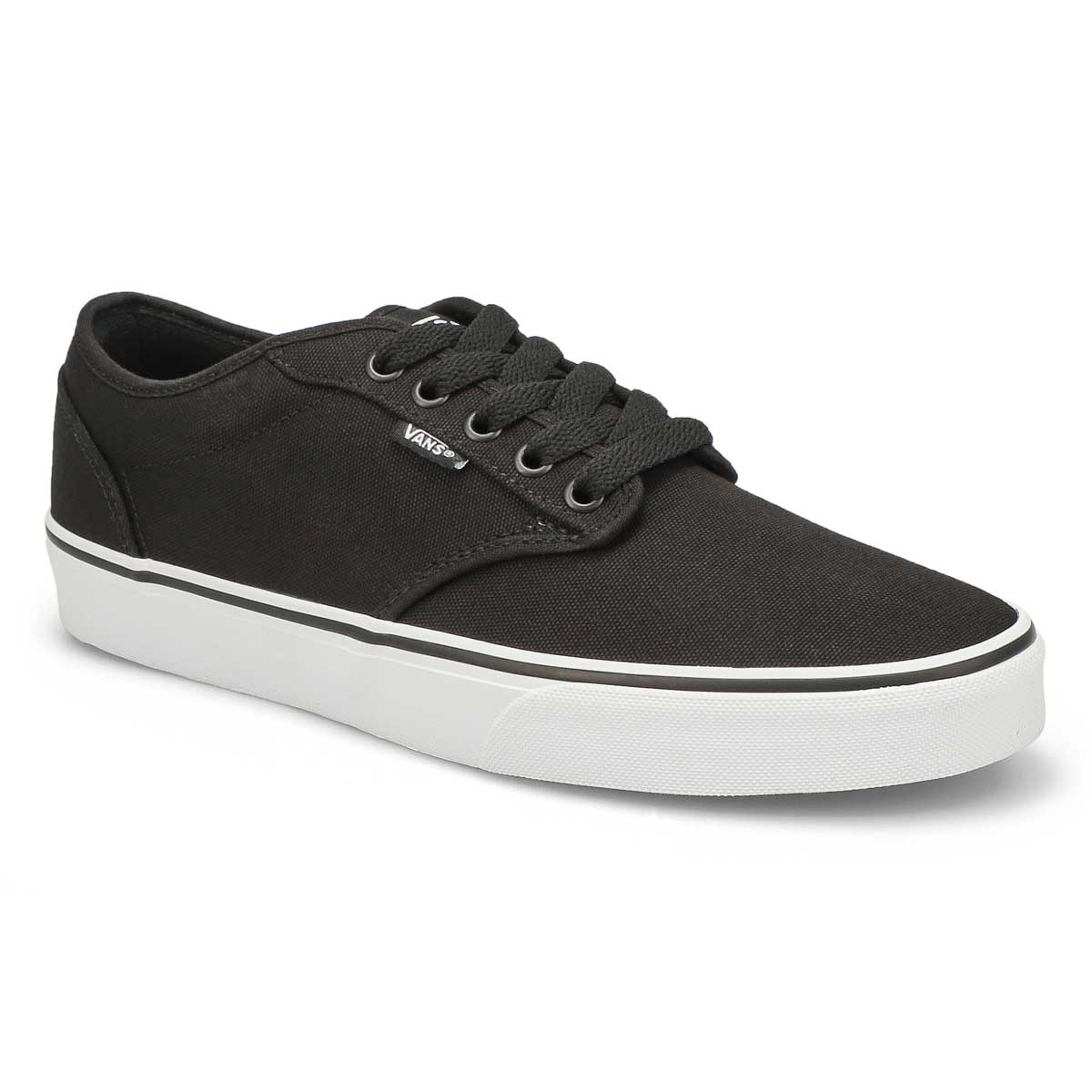 Men's ATWOOD black canvas lace up sneakers