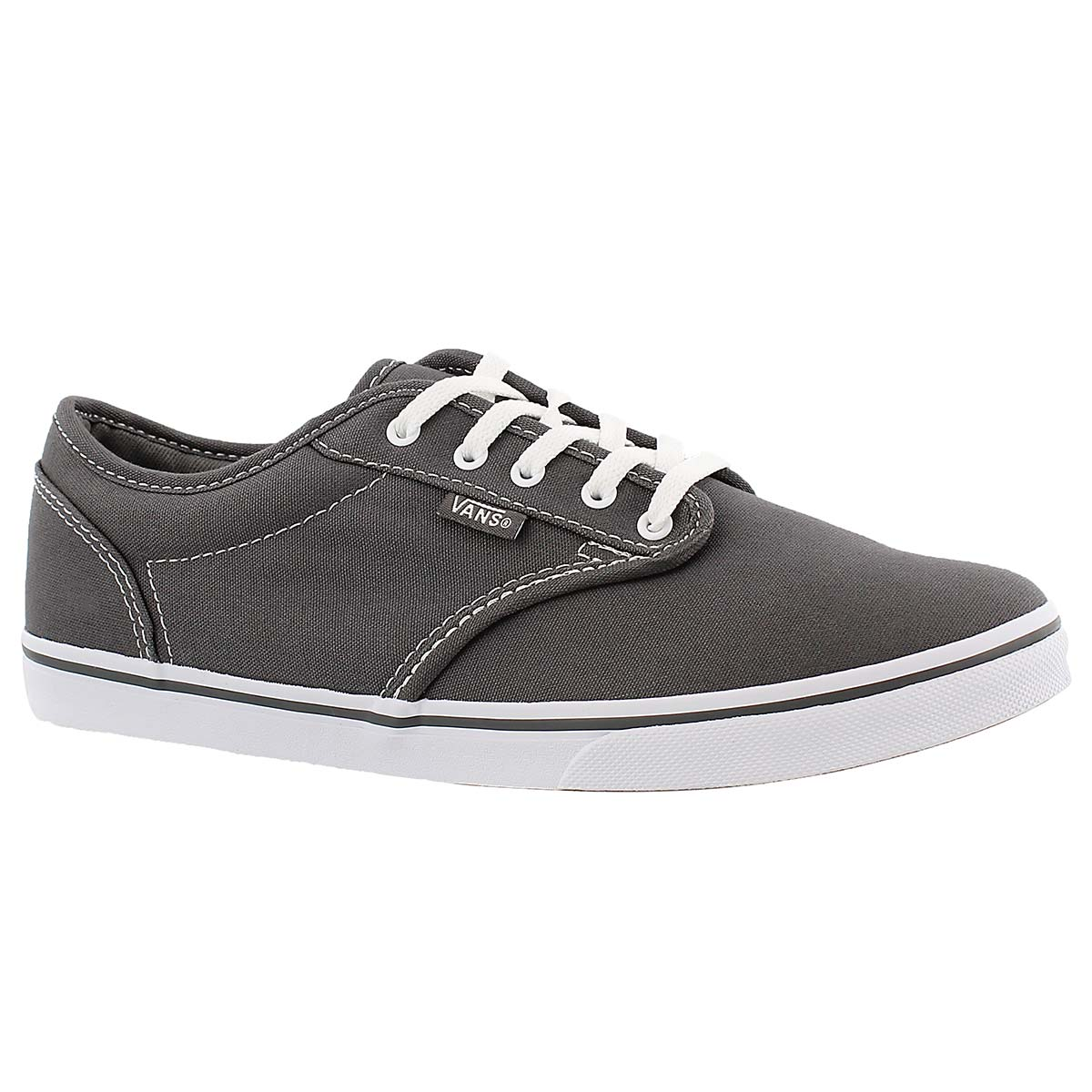 Lds Atwood Low pewter lace up sneaker