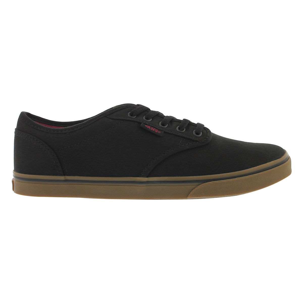 Lds Atwood Low blk/gum lace up sneaker