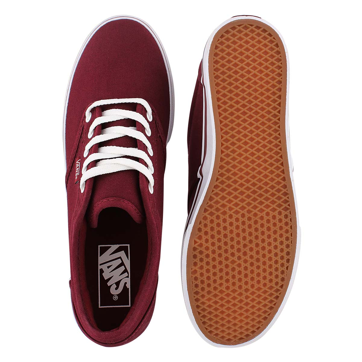 Lds Atwood Low burgundy lace up sneaker