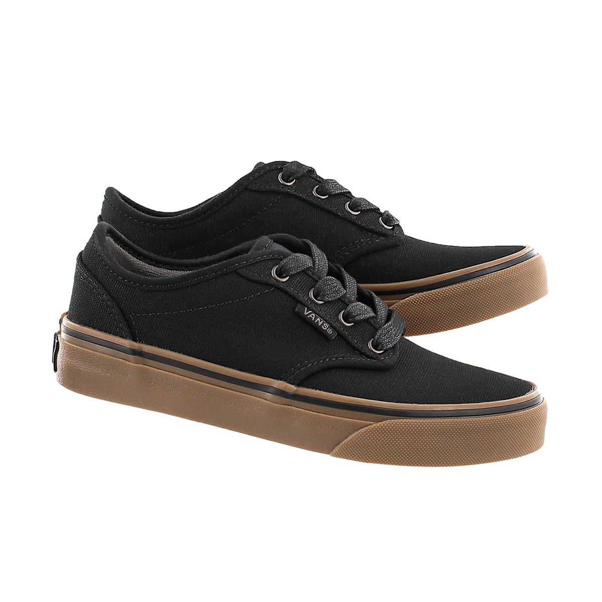 Bys Atwood black canvas lace up sneaker