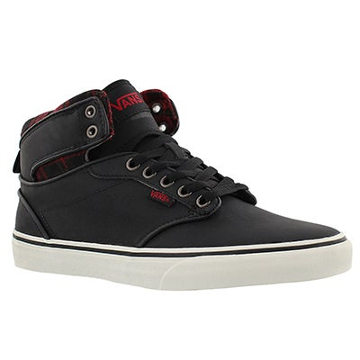 Mns Atwood Hi leather lace up sneaker