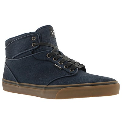Vans Men's ATWOOD HI twill lace up sneakers