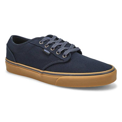 Vans Men's ATWOOD navy canvas lace up sneakers
