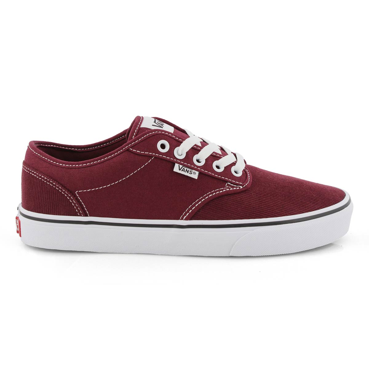 Mns Atwood port royale/wht cord sneaker