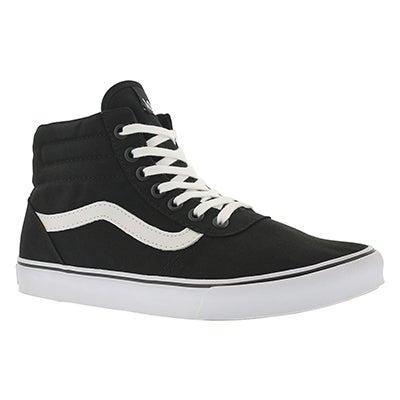 Vans Women's MILTON HI black/white lace up sneakers