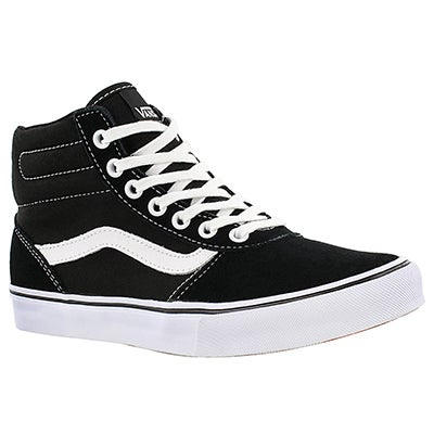 Vans Women's MILTON HI black lace up sneakers