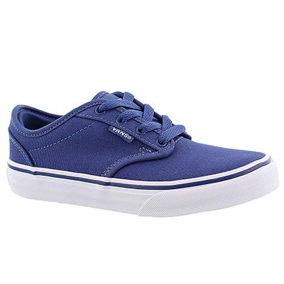 Vans Boys' ATWOOD stu navy lace up sneakers