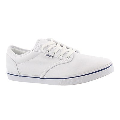 Vans Women's ATWOOD LOW white lace up sneakers