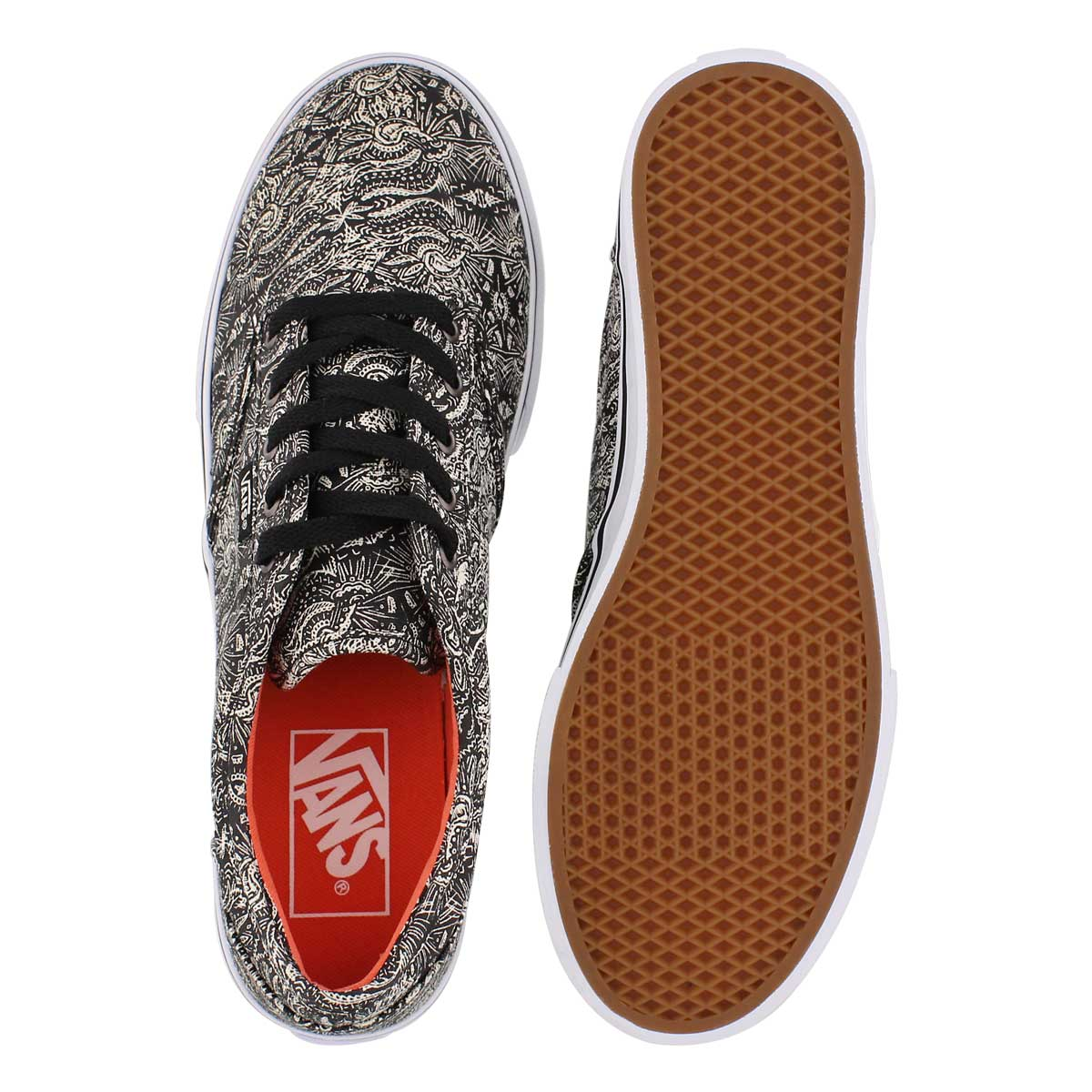 Lds Atwood Low blk/wht laceup sneaker