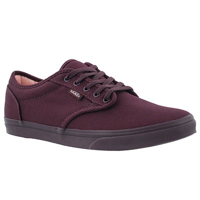 Vans Women's ATWOOD LOW fig lace up sneakers